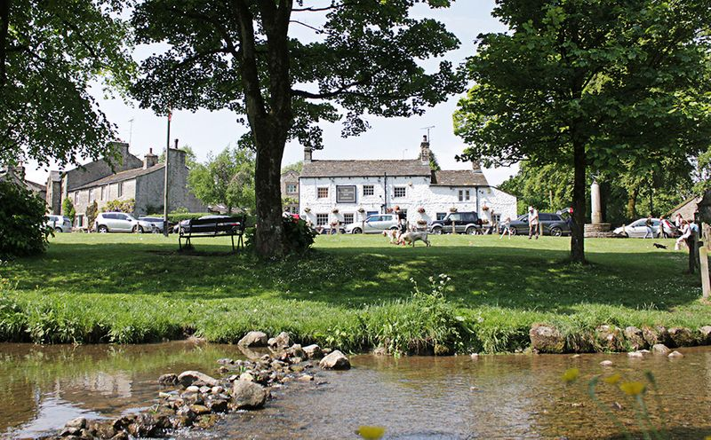 Fountaine Inn in Linton, North Yorkshire close to the Yorkshire Dales and Grassington