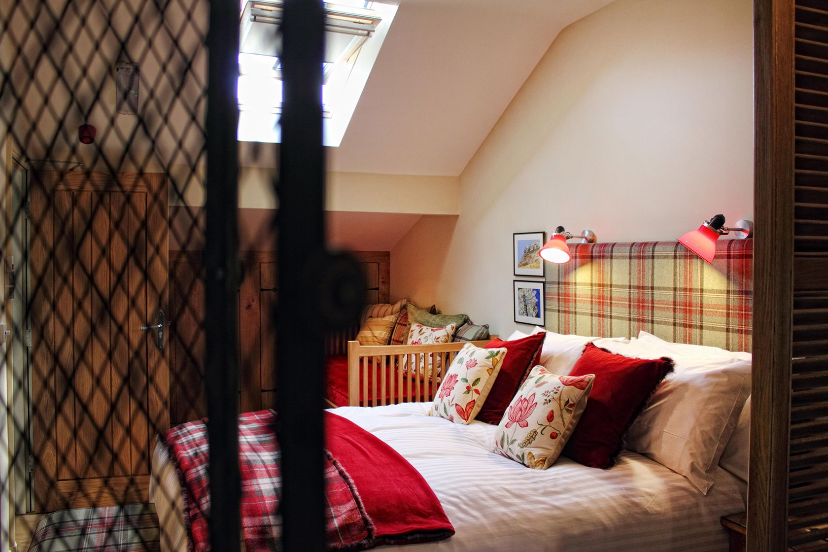 Loft is a great double room perfect for cyclists and walkers near Grassington and close to The Yorkshire Dales