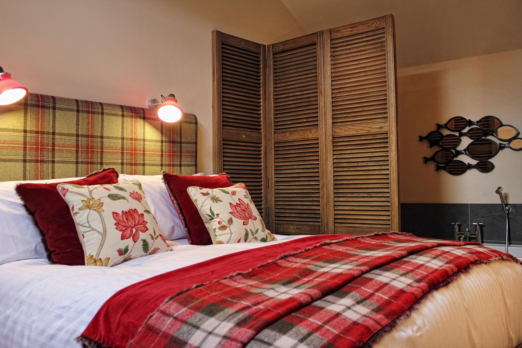 A picture of a double ensuite room close to the Yorkshire Dales and Grassington